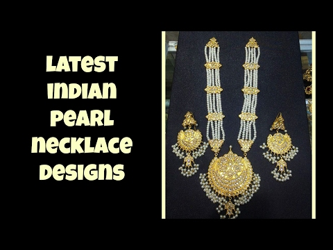 Latest Indian Pearl Necklace Designs