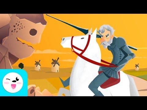 don-quijote-de-la-mancha-para-niños---cuentos-clásicos