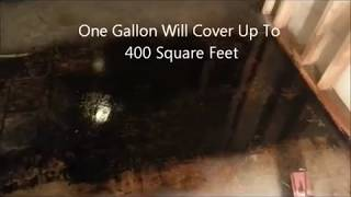 Remove Mastic Asphalt Flooring Adhesive from Concrete Flooring - Oil Flo 141 - DIY
