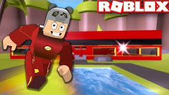 Süper Kahraman Flash Fabrikası Kurduk! - Panda ile Roblox The Flash Tycoon