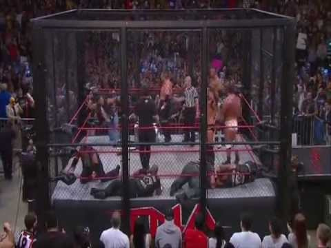 Tna Impact Wrestling (Team TNA vs Aces & Eights) (Steel cage Lockdown 2013)