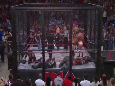 Tna Impact Wrestling (Team TNA vs Aces & Eights) (Steel cage Lockdown 2013)