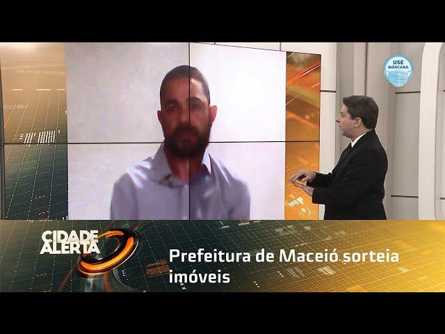 Prefeitura de Maceió sorteia imóveis do Vale Bentes II neste sexta-feira