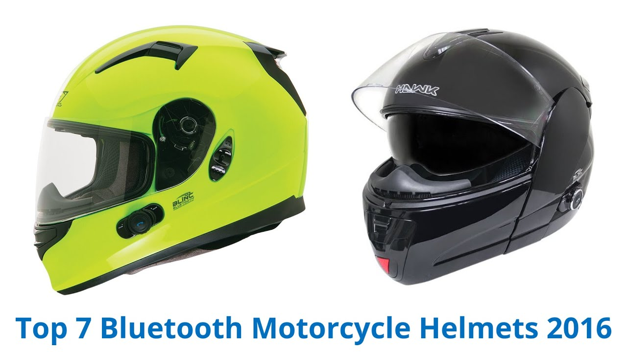 7 Best Bluetooth Motorcycle Helmets 2016 Youtube