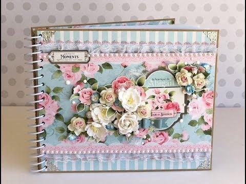Handmade Journal using Nitwit Collections (start to finish & flip-thru)!