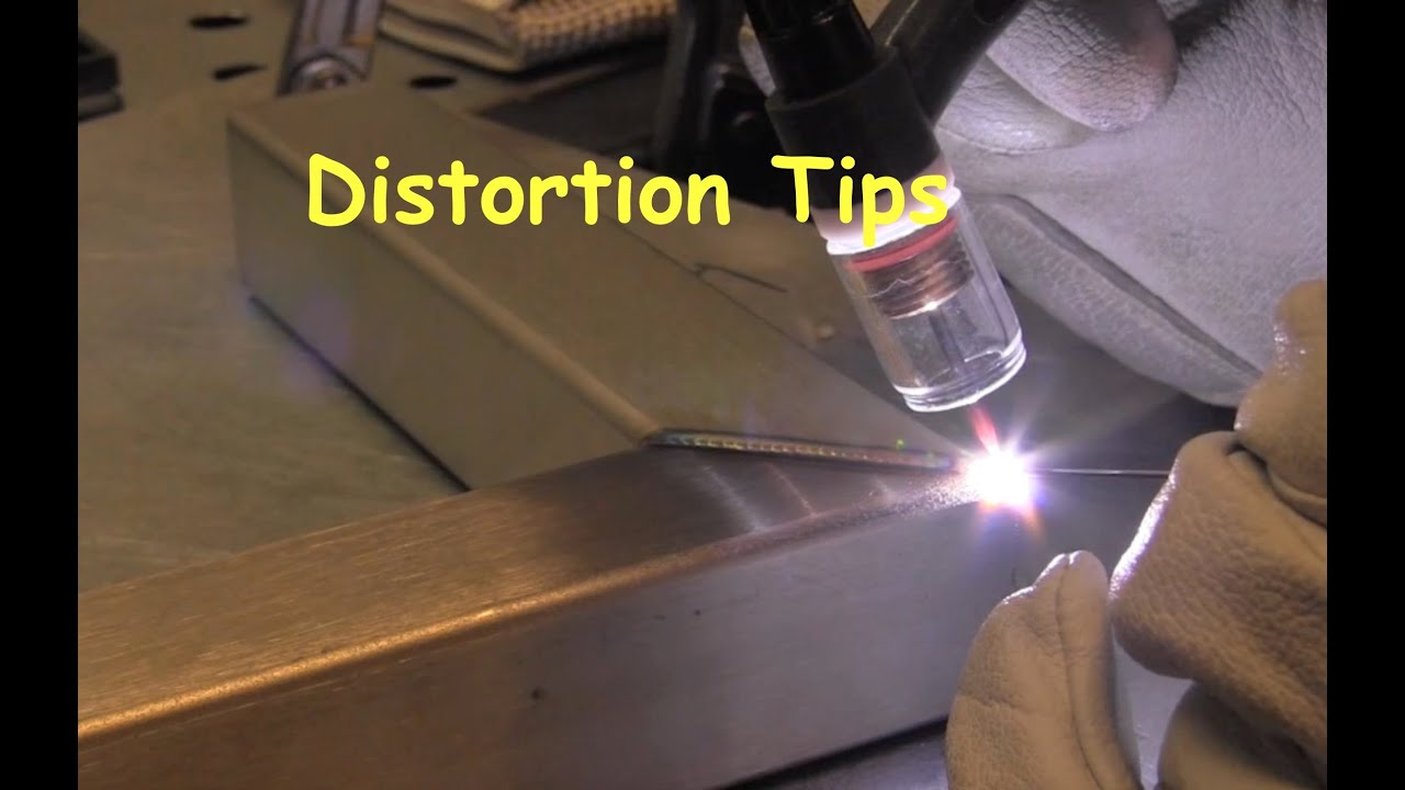 Welding Distortion Tips For Keeping It Square Youtube