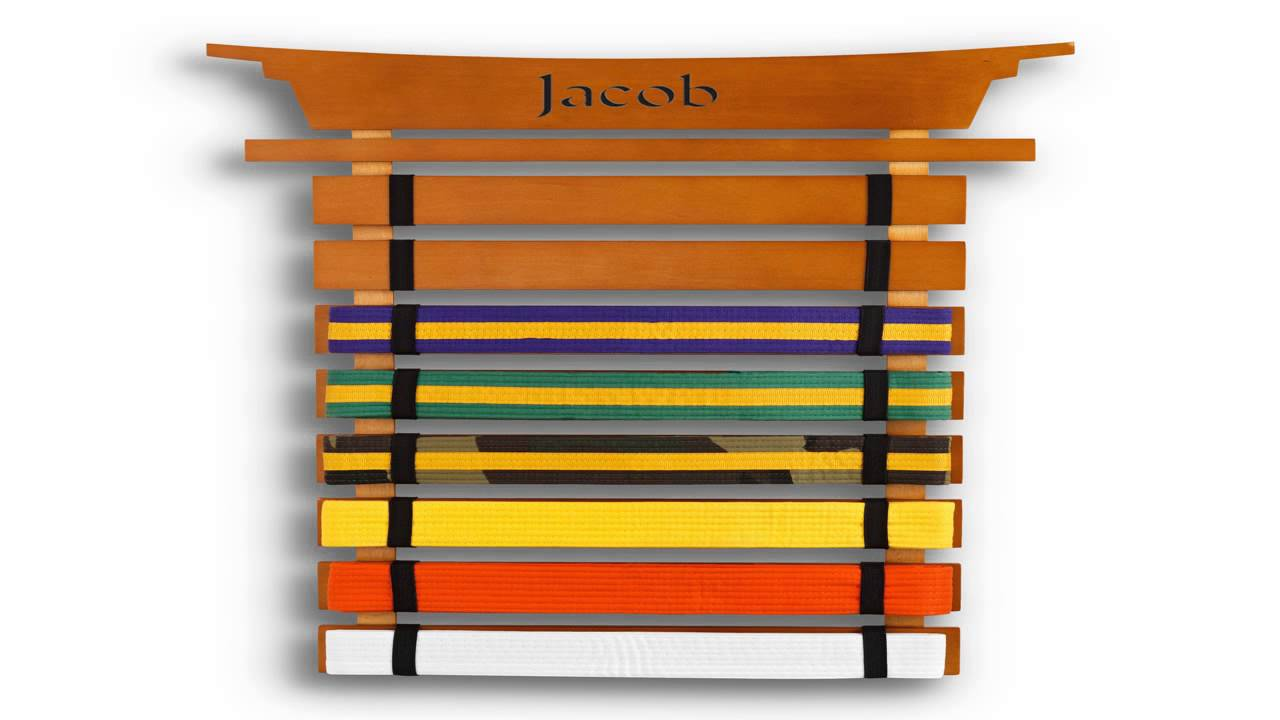 Karate belt display ideas - Karate Belt Display Ideas 27