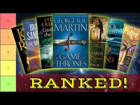Ranking Every Fantasy Series