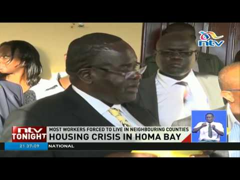 Homa Bay signs MoU for construction of 2,000 housing units
