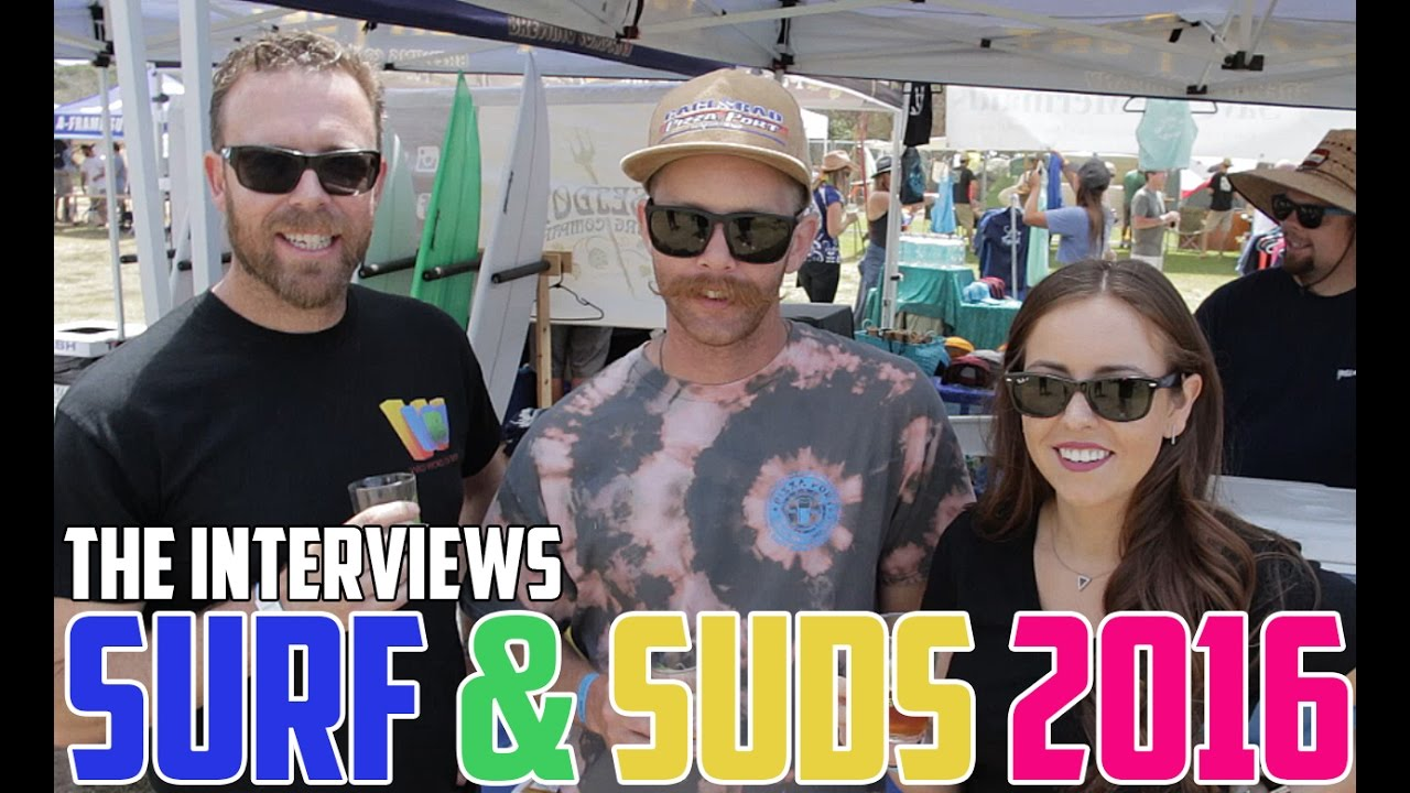 Surf 'N' Suds Beer Festival 2016 - THE INTERVIEWS!