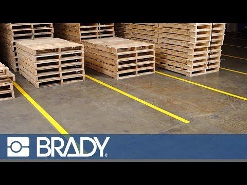 ToughStripe Floor Tape Forklift Durability Test  YouTube