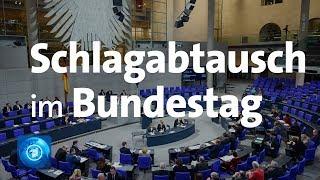 Bundestag: Weidel und Merkel liefern sich Schlagabtausch bei Generaldebatte