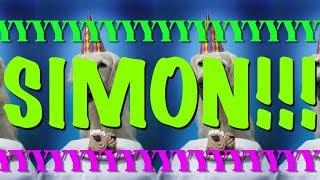 HAPPY BIRTHDAY SIMON! - EPIC Happy Birthday Song