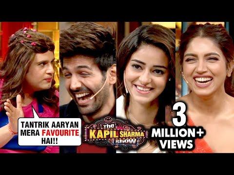 Krushna Abhishek Aka Sapna MAKES FUN Of Kartik Aaryan | The Kapil Sharma Show | Pati Patni Aur Woh