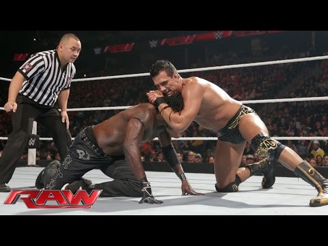 R-Truth Vs. Alberto Del Rio: Raw – 2. November 2015