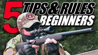 5 Tips and RuĮes For Airsoft Beginners