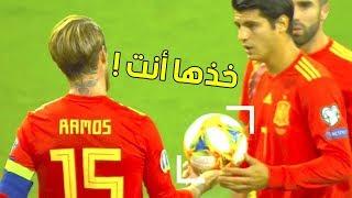 أشهر لحظات الأنانية والتعاون في كرة القدم .....!! لن تصدق ما ستراه