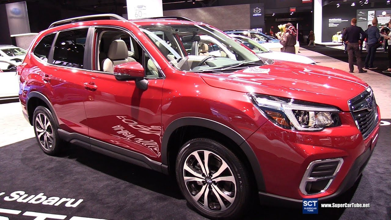 2019 Subaru Forester Exterior And Interior Walkaround Debut 2018