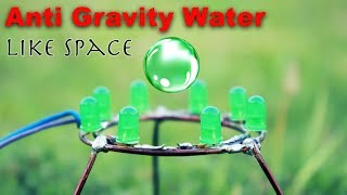 As a '0' Gravity Hanging Water # Easy science project #