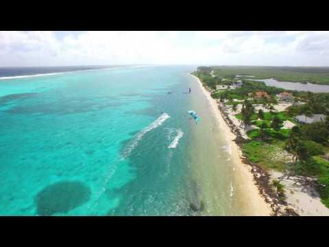 Cayman KiteBoarding Sweet Spot Aerial Drone 4K