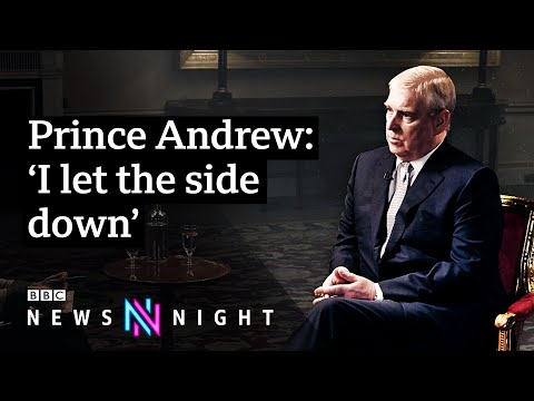 Prince Andrew and Jeffrey Epstein FULL INTERVIEW - BBC Newsn