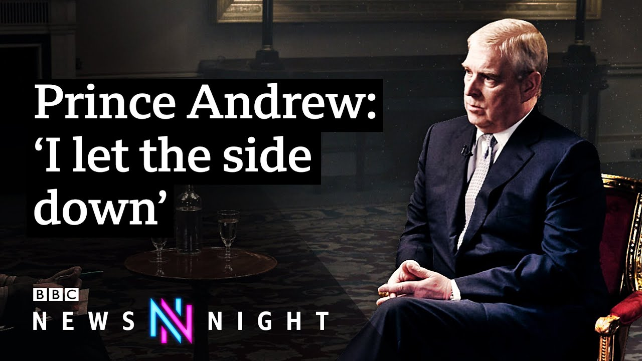 Prince Andrew And Jeffrey Epstein Full Interview Bbc Newsnight