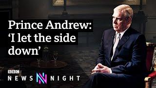 Prince Andrew and Jeffrey Epstein FULL INTERVIEW - BBC Newsnight / Видео