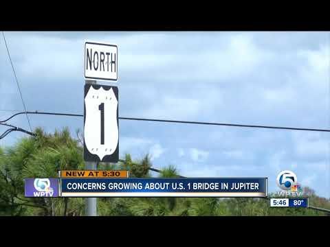Concerns growing about U.S. 1 bridge in Jupiter