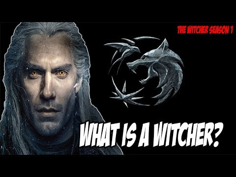 What is a Witcher? EXPLAINED! (The Witcher Season 1) - 동영상