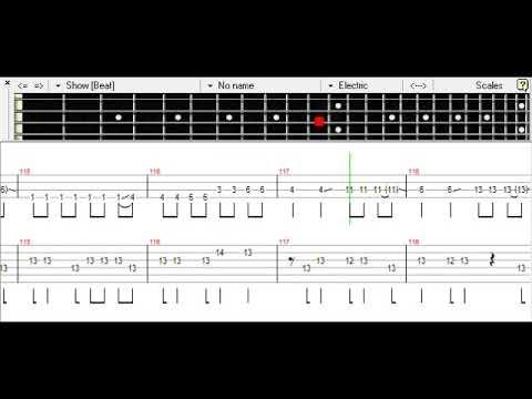 Hachigatsu no Yoru - Silent Siren Bass TAB