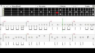 Hachigatsu no Yoru - Silent Siren Bass TAB thumbnail