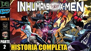 INHUMANOS vs X-MEN 2/4 - Crossover - AlejoZaaap, El Batsi, CarlitoxBanana, AmazingcomicX