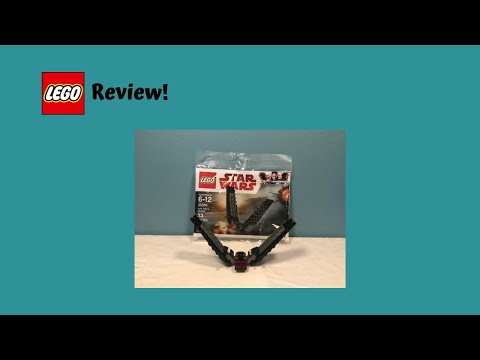 LEGO Star Wars 30380 Kylo Ren's Shuttle Polybag Review!