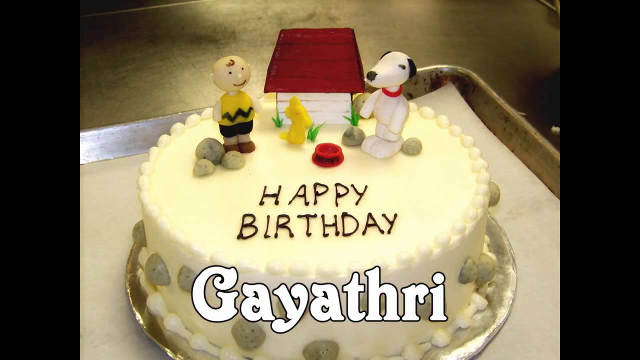 gayu birthday youtube