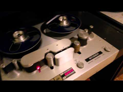 Studer A80 2 inch 16 track  playing at Wisseloord Studio 4 part 1