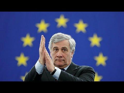 Antonio Tajani is the new European Parliament president