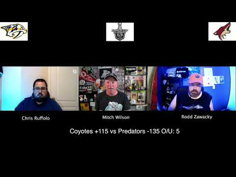 Phoenix Coyotes vs Nashville Predators 8/5/20 NHL Pick and Prediction Stanley Cup Playoffs