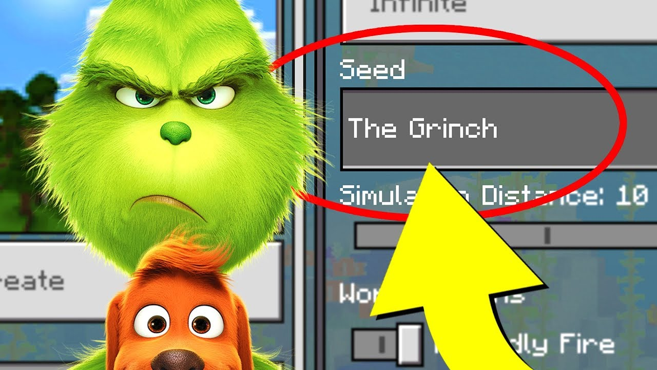 Minecraft Quot The Grinch Quot World Dr Seuss The Grinch