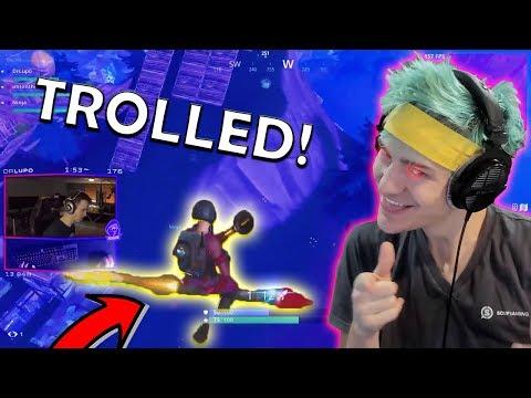 Ninja TROLLS DrLupo!! CDNThe3rd LOSES A 150$ BET!   Fortnite Highlights & Funny Moments #21