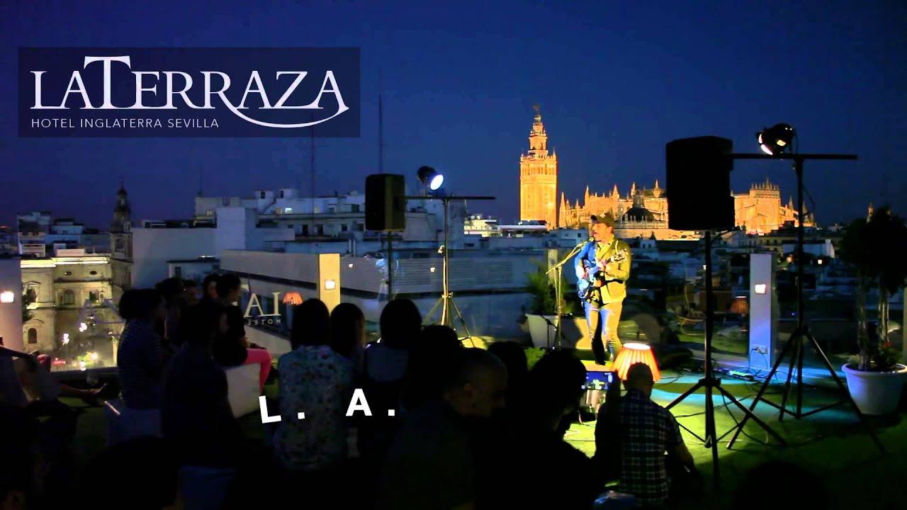 Live The Roof Sevilla 2014 Terraza Hotel Inglaterra