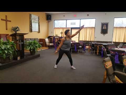 LDBC Uplifting Praise Dancers African melody practice  full dance