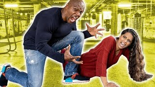Working Out With Terry Crews