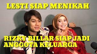 Download lagu LESTI Siap Menikah - RIZKY BILLAR Siap Jadi Anggota Keluarga