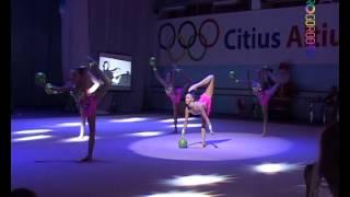 65 лет ивановской художественной гимнастике. Часть 3 - сборная