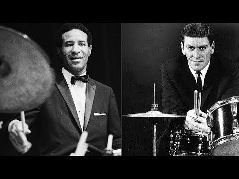 max-roach-&-stan-levey---drummin'-the-blues-(1957).