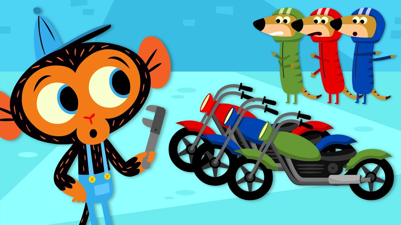 The Three Meerkats Have a BIG Motorcycle Problem