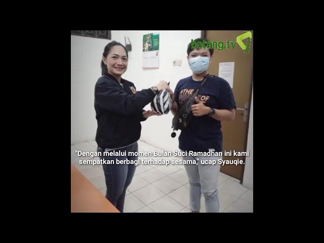 Srikandi PP Salurkan Bingkisan Lebaran dari MPW PP Kalteng|betang.tv