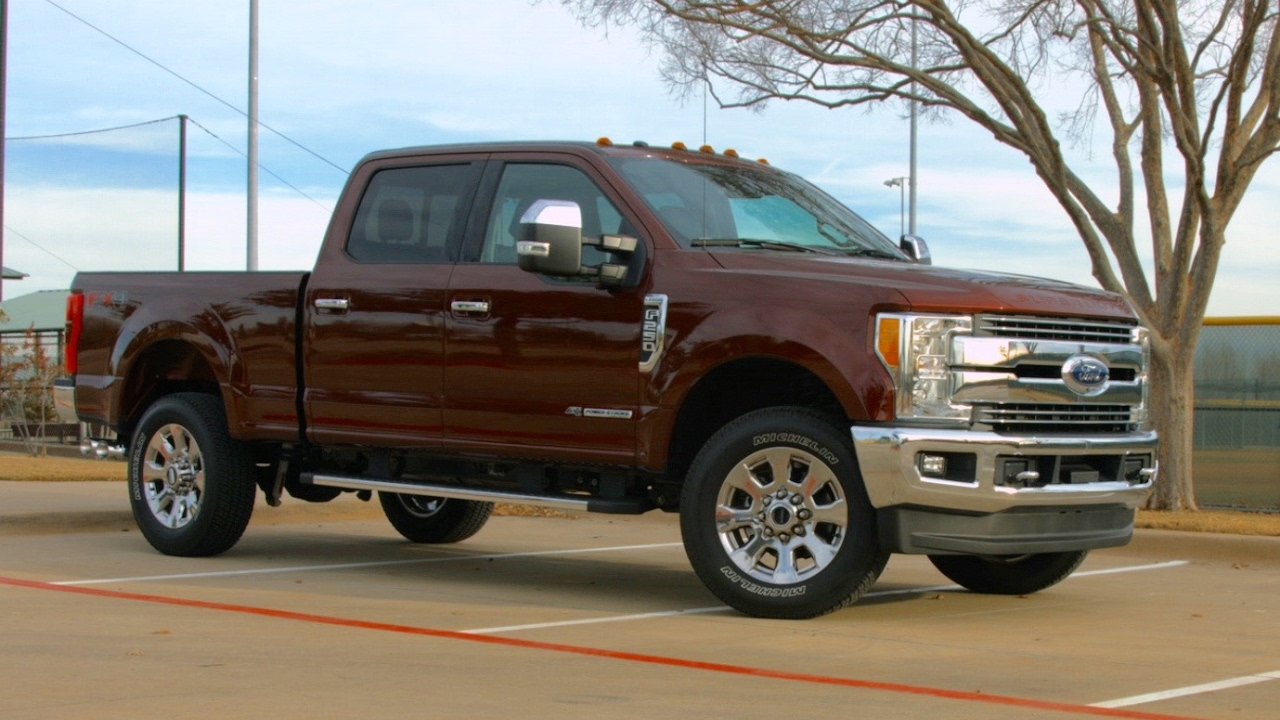 2017 Ford F-250 Lariat Test Drive - YouTube