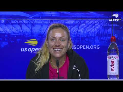 """Angelique Kerber: """"It's A Little Bit Weird To Play Without Fans!"""" 