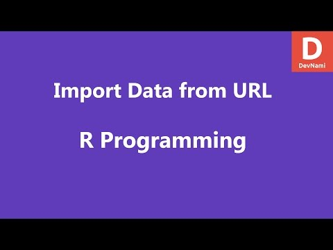 R Programming Import Data From URL